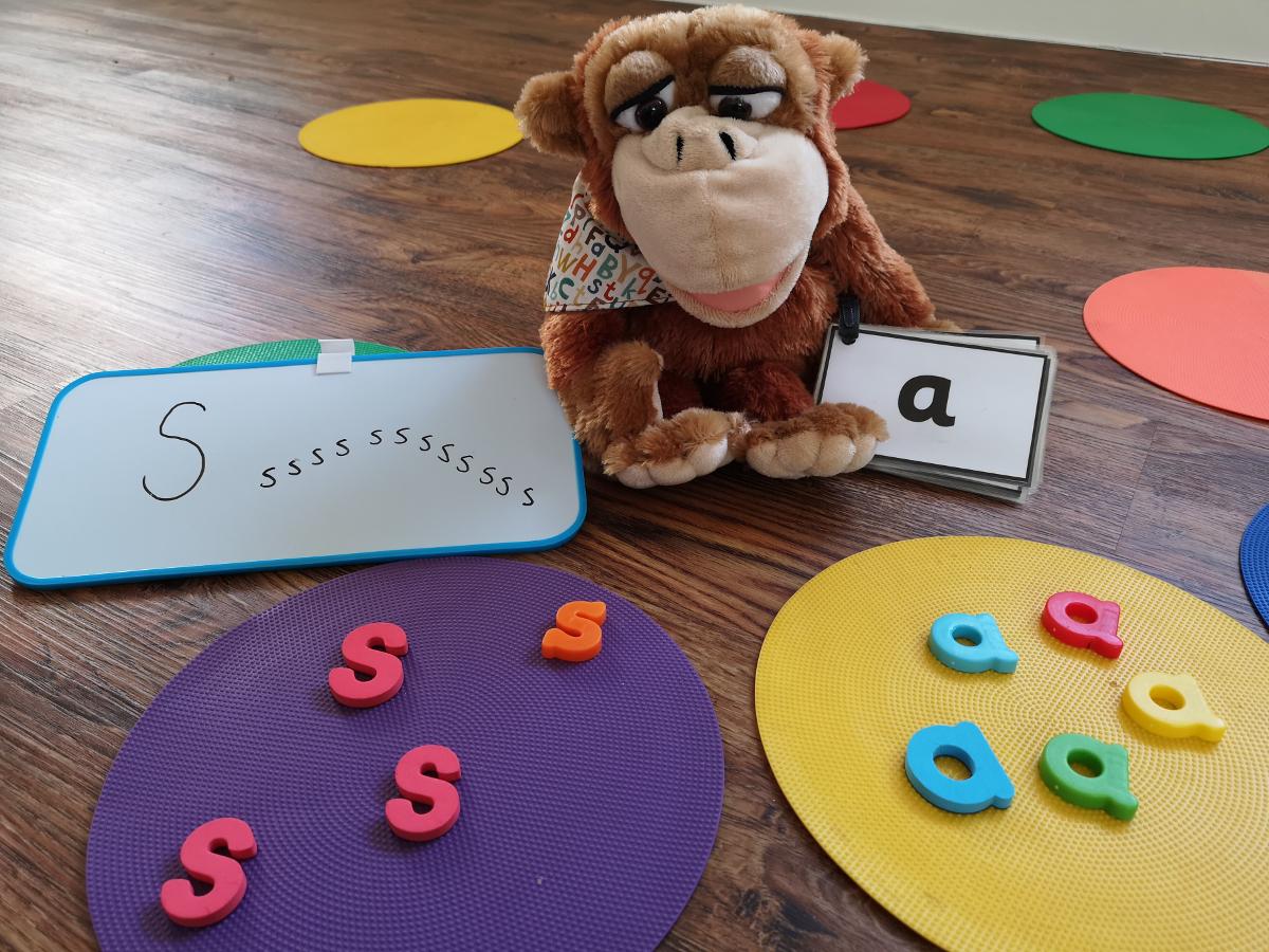 monkey phonics activities